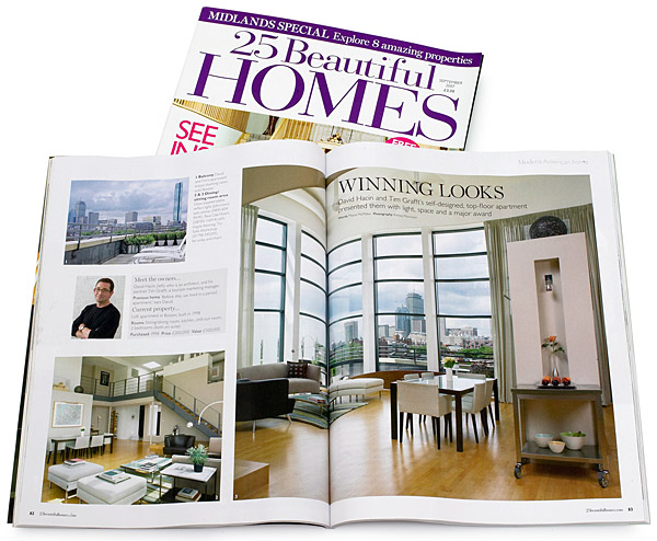 25 Beautiful Homes magazine.