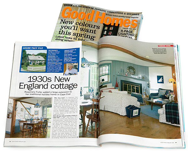 February 2006 issue of BBC Good Homes magazine