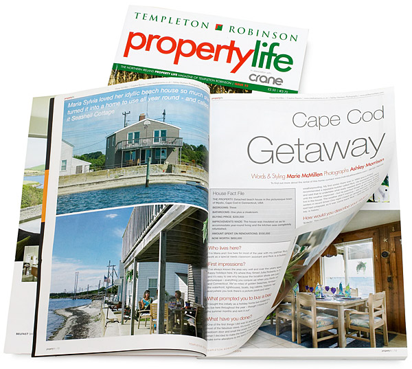 April 2008 issue of Templeton Robinson's Property life magazine