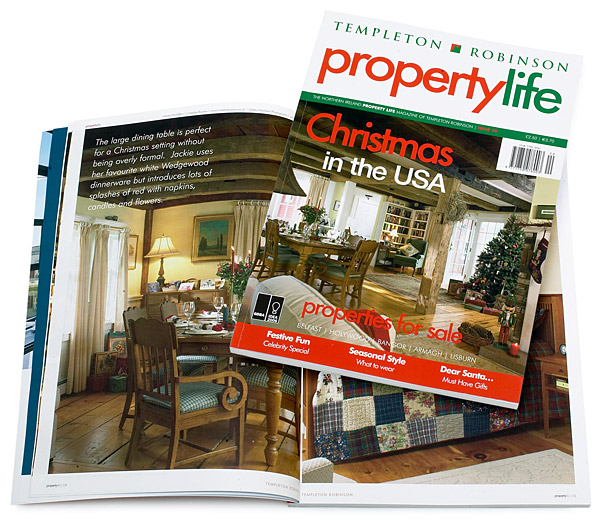Pages 14 to 20 and the cover of the December 2007 issue of Property Life magazine.
