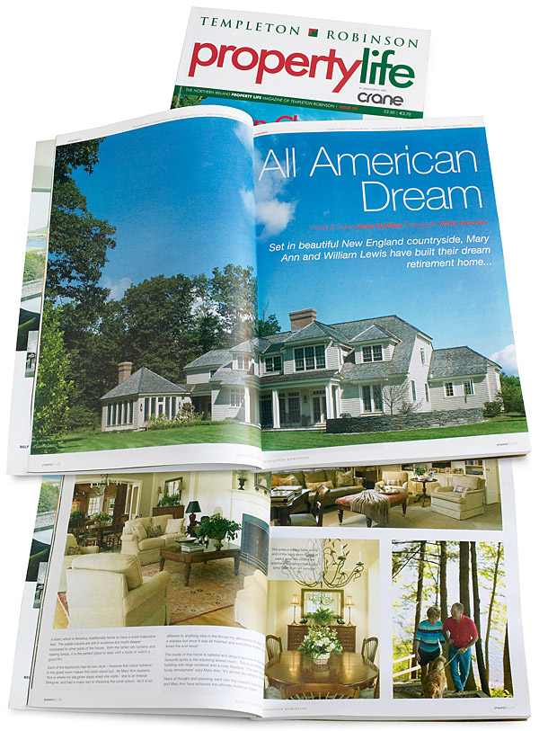 Pages 12 to 18 inside issue 24 of Templeton Robinson's Property Life magazine which came out in May 2008.