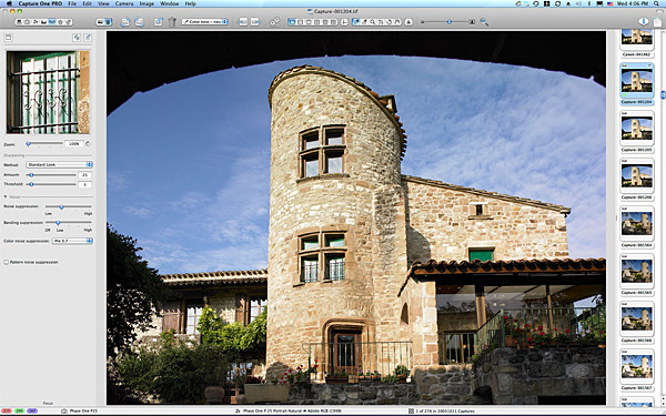 John & Angela Goodwin's Tower house in the Tarn region of France.