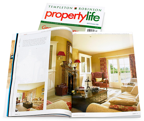 Pages 37 to 46 in the 10th issue of Property Life magazine featuring Bradley Viljoen and Mark Smith's villa in the Tarn region of France.