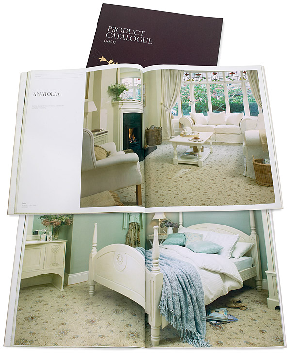 Ulster Carpet product catalogue.