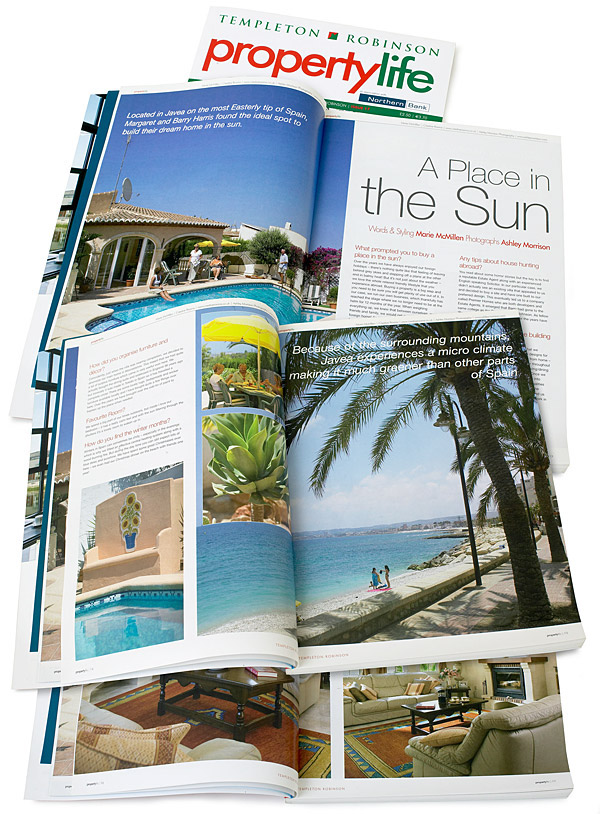 Pages 12 to 21 in issue 17 of Templeton Robinson's Property Life magazine.