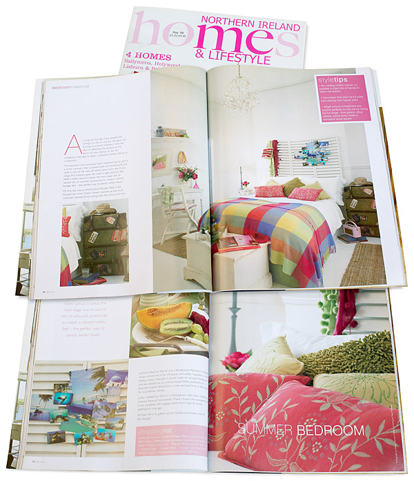 Pages 69 to 72 in the May 2008 issue of Northern Ireland Homes & Lifestyle magazine.