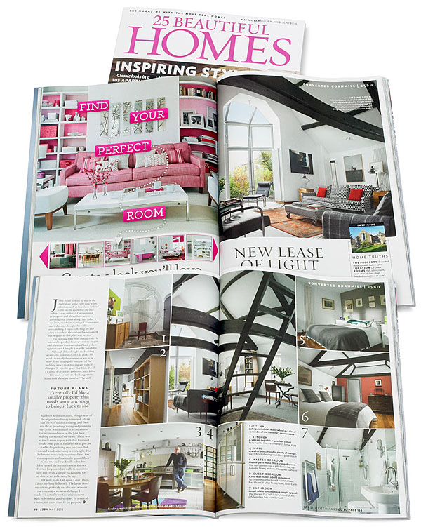 25 Beautiful Homes magazine May 2013