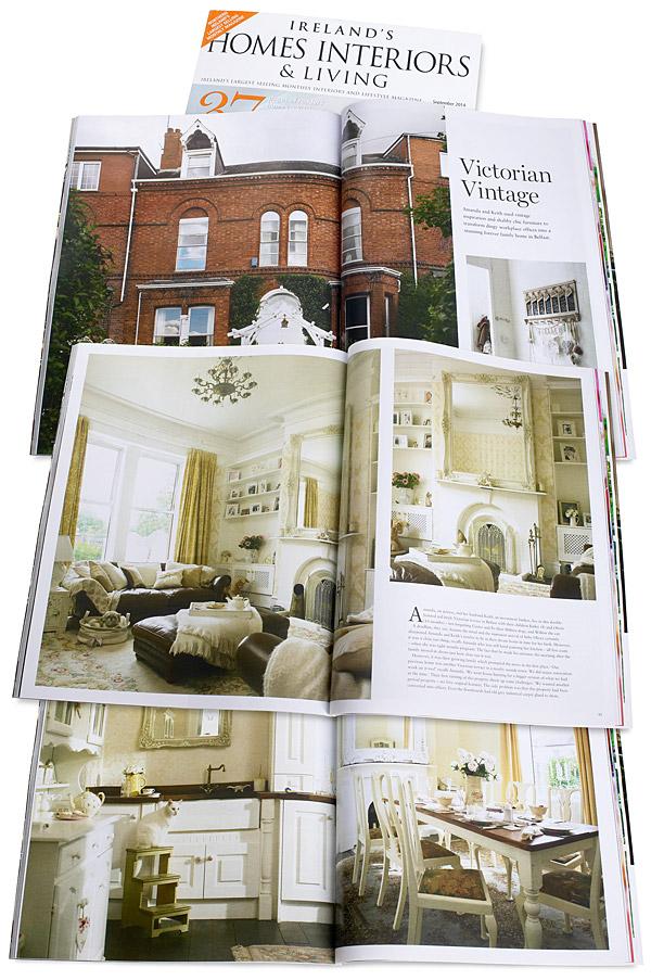 September 2014 issue of Ireland's Homes Interiors & Living magazine.
