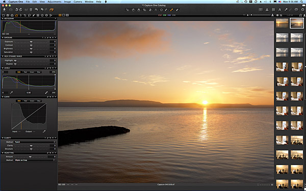 Sunrise at the Redcastle Hotel near the town of Moville on the Inishowen Peninsula of County Donegal.