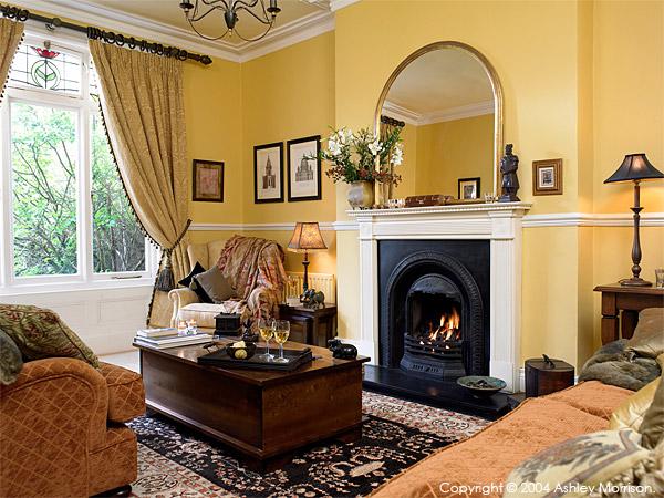 The sitting room in Marie & Alan McMillen's home in Belfast.