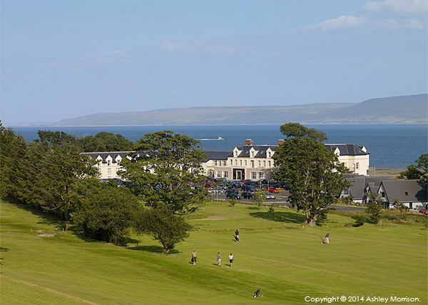 The Redcastle Hotel near the town of Moville on the Inishowen Peninsula of County Donegal.