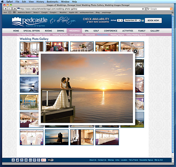 Redcastle website