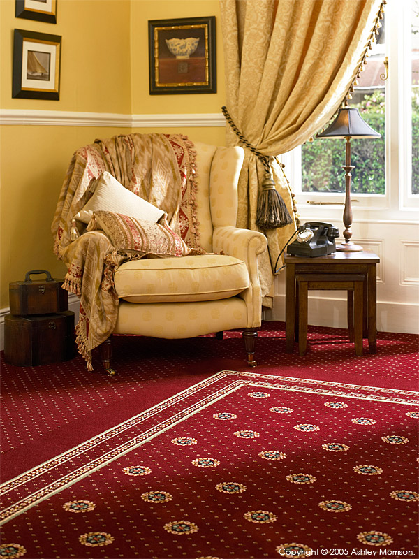 Carpet by Ulster Carpets.
