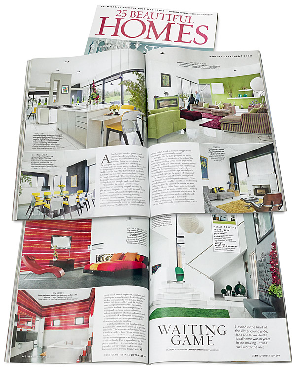November 2014 issue of 25 Beautiful Homes magazine