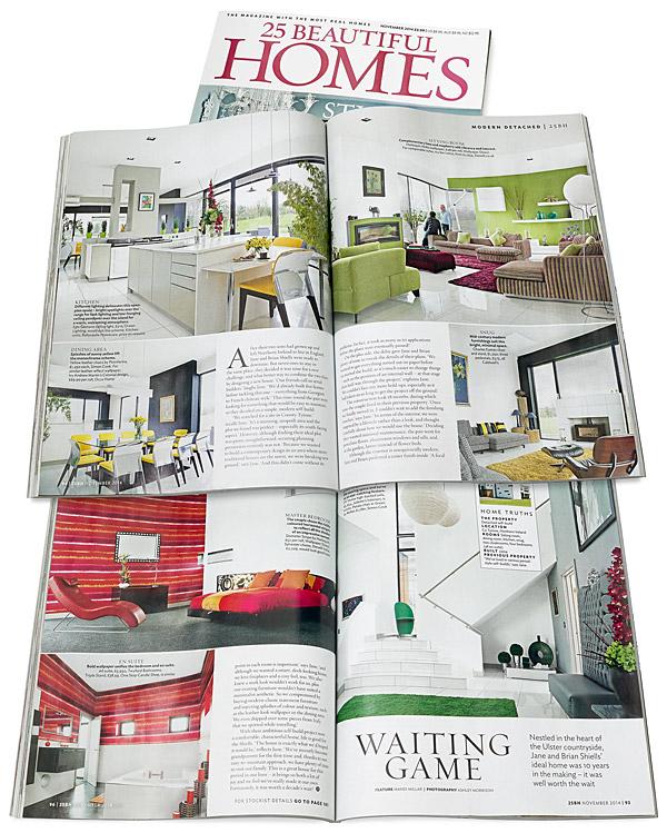 November 2014 issue of 25 Beautiful Homes magazine