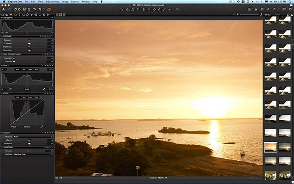 Sunrise over Hobson Bay