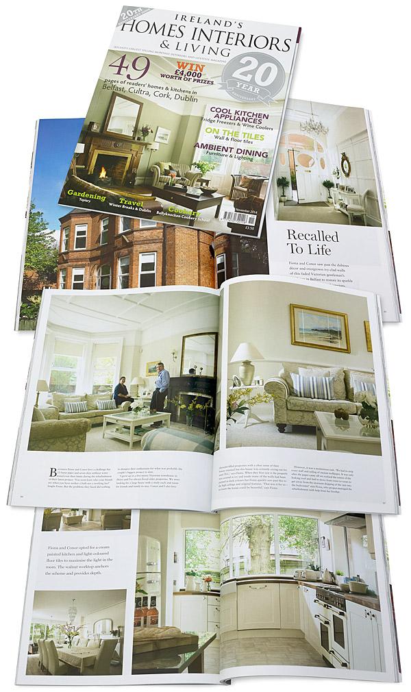November 2014 issue of Ireland's Homes Interiors & Living magazine