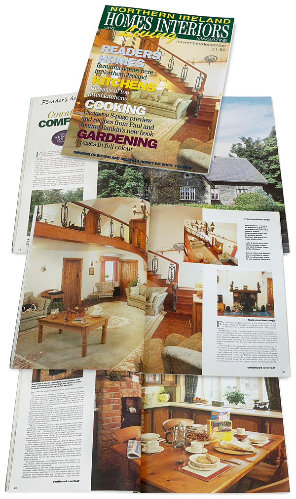 November 1994 issue of Northern Ireland Homes Interiors and Living magazine
