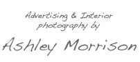 Ashley Morrison - an Irish photographer who specialises in advertising & interior photography throughout Europe and beyond.