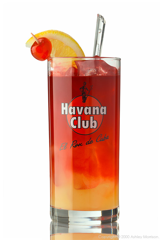 Havana Club cocktail drink by Ashley Morrison.